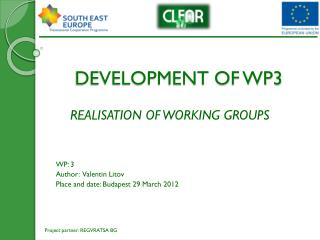 DEVELOPMENT OF WP3