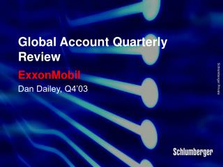 Global Account Quarterly Review