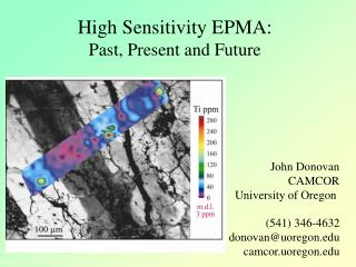 High Sensitivity EPMA: Past, Present and Future
