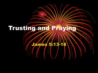 Trusting and Praying