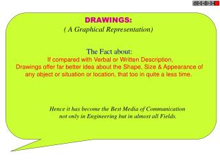 DRAWINGS: ( A Graphical Representation)