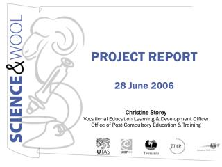 PROJECT REPORT 28 June 2006