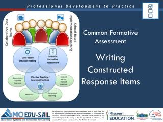 Writing Constructed Response Items