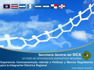 Secretaría General del  SICA