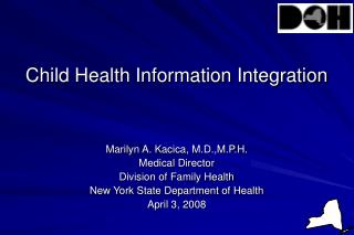Child Health Information Integration