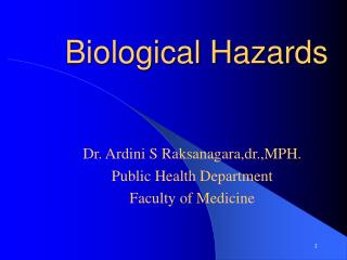 Biological Hazards