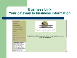Business Link  Your gateway to business information