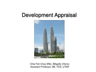 Development Appraisal