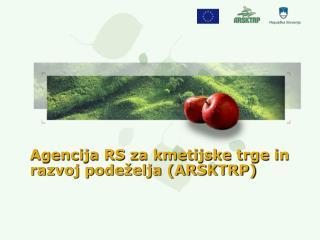 Agencija RS za kmetijske trge in razvoj podeželja (ARSKTRP)