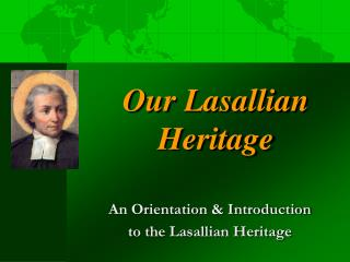 Our Lasallian Heritage