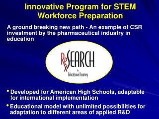 Innovative Program for STEM Workforce Preparation