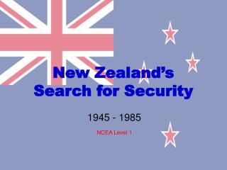 New Zealand's Search for Security
