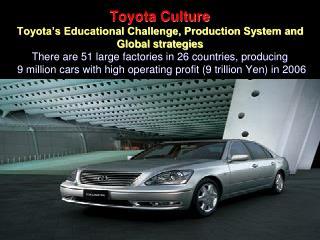 Toyota Culture