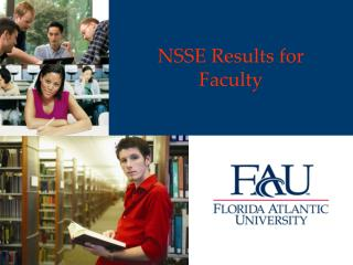NSSE Results for  Faculty