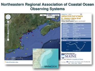 Northeastern Regional Association of Coastal Ocean Observing Systems