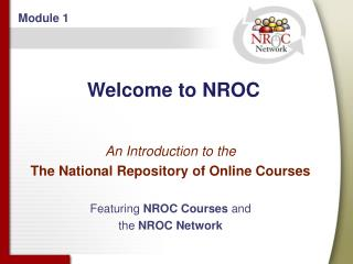 Welcome to NROC