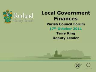 Local Government Finances