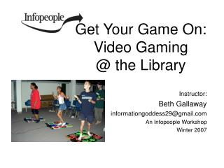 Get Your Game On: Video Gaming  @ the Library