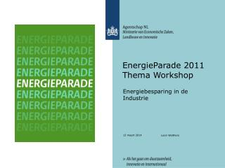 EnergieParade 2011 Thema Workshop