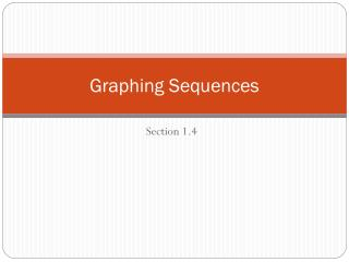 Graphing Sequences