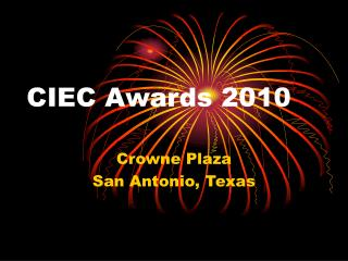 CIEC Awards 2010