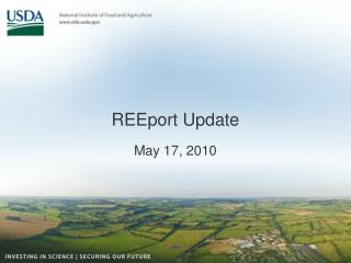 REEport Update
