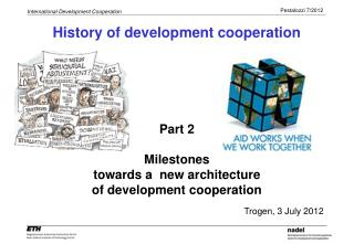 History of development cooperation