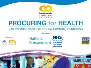 NHS Strategic Sourcing