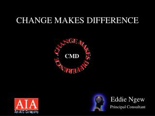 CHANGE MAKES DIFFERENCE