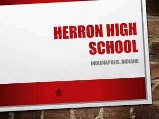 Herron High School