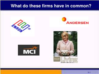 What do these firms have in common