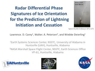 Radar Differential Phase Signatures of Ice Orientation for the Prediction of Lightning Initiation and Cessation