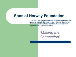 Sons of Norway Foundation