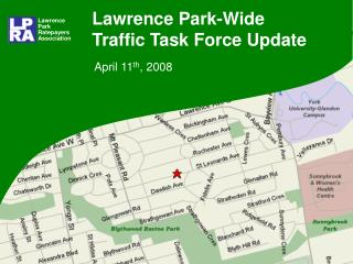 Lawrence Park-Wide Traffic Task Force Update