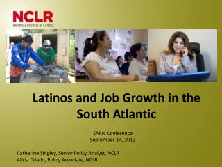 Latinos  and Job  Growth in the  South Atlantic