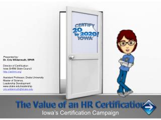 The Value of an HR Certification