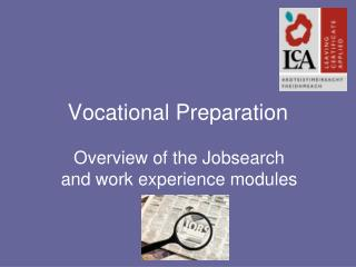 Vocational Preparation