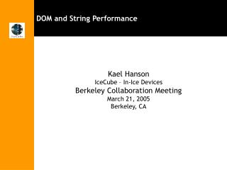 DOM and String Performance