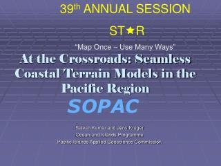 At the Crossroads: Seamless Coastal Terrain Models in the Pacific Region