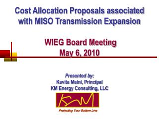 Cost Allocation Proposals associated with MISO Transmission Expansion