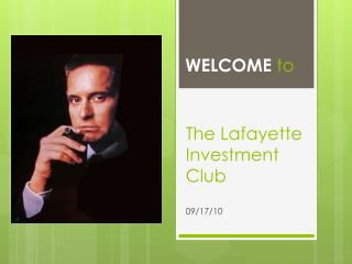 The Lafayette Investment Club