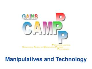 Manipulatives and Technology