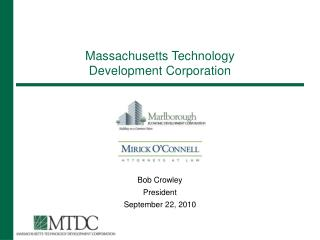 Massachusetts Technology Development Corporation