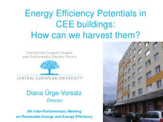 Energy Efficiency Potentials in CEE buildings:  How can we harvest them?