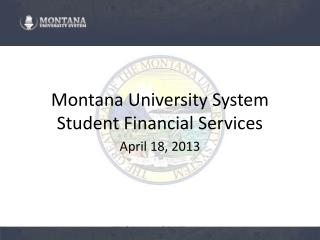 Montana University System Student Financial Services