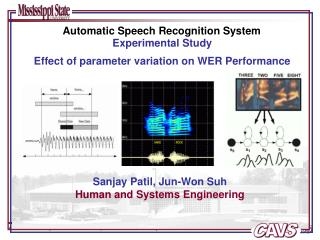 Automatic Speech Recognition System