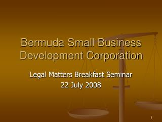 Bermuda Small Business Development Corporation