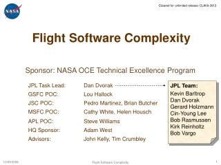 Flight Software Complexity