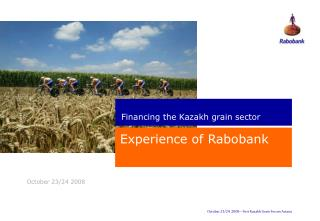 Experience of Rabobank