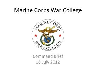 Marine Corps War College